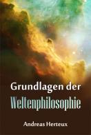 Grundlagen der Weltenphilosophie Buchcover